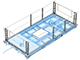 Aluminium demountable railing for working platform